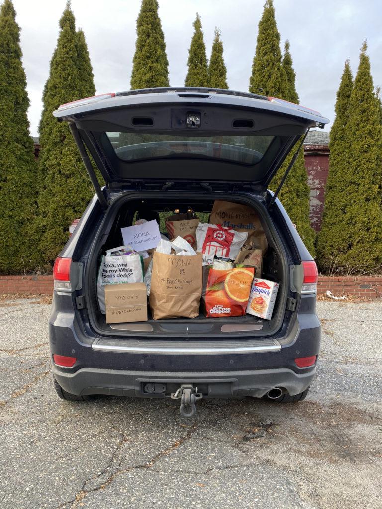 Food drive car